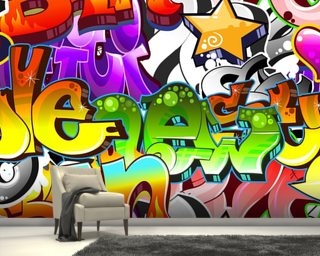 Graffiti Wall Art Wallpaper Wall Murals