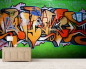 Urban Graffiti wall mural living room preview