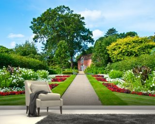 English Country Garden Mural Wallpaper Wallpaper Wall Murals