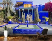 Le Jardin Majorelle, Marrakech wallpaper mural kitchen preview