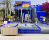 Le Jardin Majorelle, Marrakech wallpaper mural living room preview