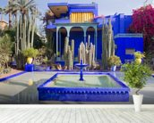 Le Jardin Majorelle, Marrakech wallpaper mural in-room view