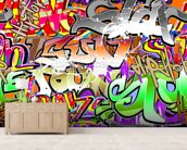 Urban Graffiti Art wall mural living room preview
