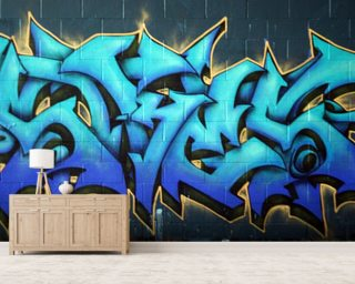 Graffiti Wallpaper Wall Murals