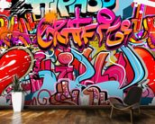 Hip Hop Graffiti wall mural kitchen preview
