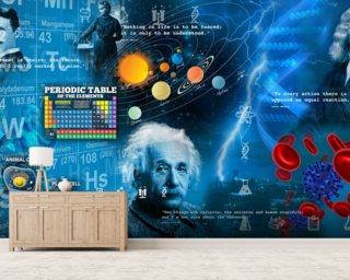 Amazing Science - customised versions available Wallpaper Wall Murals