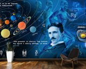 Amazing Science Panoramic - customised versions available wallpaper mural kitchen preview