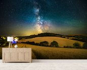 A Path To The Stars wall mural living room preview