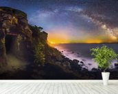 Discover Our Universe wall mural in-room view