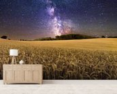 Fields of Gold wallpaper mural living room preview