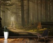 A Forest Walk wallpaper mural kitchen preview
