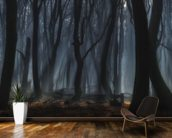 Dancing Trees wall mural kitchen preview