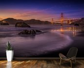 Golden Gate Bridge Fading Daylight wallpaper mural kitchen preview