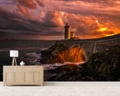 Sun is Down wall mural living room preview