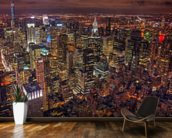 New York Night Life wallpaper mural kitchen preview