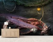 Dragons Cave wall mural living room preview