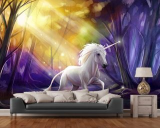 Unicorn Wallpaper Wall Murals Wallsauce USA