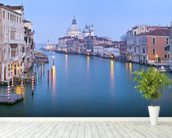 Venice Water Streets wall mural in-room view