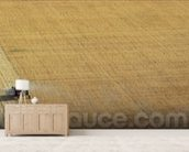 A tractor harvesting (photo) mural wallpaper living room preview