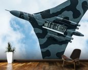 Vulcan Bomber Final Run mural wallpaper kitchen preview