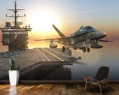 Aircraft Carrier wall mural kitchen preview