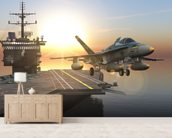 Aircraft Carrier wall mural living room preview