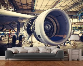 Airplane Wallpaper Aircraft Wall Murals
