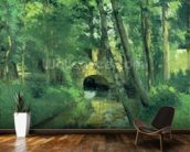 The Little Bridge, Pontoise, 1875 wall mural kitchen preview