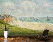 Le Crotoy looking Upstream, 1889 wall mural kitchen preview
