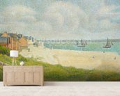Le Crotoy looking Upstream, 1889 wall mural living room preview