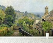 Louveciennes or, The Heights at Marly, 1873 (oil on canvas) wallpaper mural in-room view