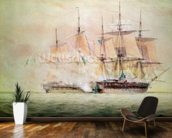 Boarding the Chesapeake (w/c on paper) wall mural kitchen preview
