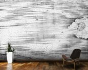 Grande Pianta Prospettica - Venice, c.1500 (engraving) (right hand side) mural wallpaper kitchen preview