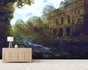 El Liceu Ruins wallpaper mural living room preview