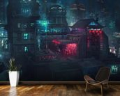 Future Man Electro wallpaper mural kitchen preview