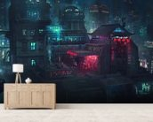 Future Man Electro wallpaper mural living room preview