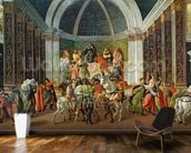 The Story of Virginia, c.1500 (tempera on panel) mural wallpaper kitchen preview