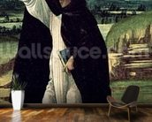 St. Dominic, c.1498-1505 (tempera on canvas) wall mural kitchen preview
