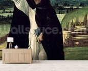 St. Dominic, c.1498-1505 (tempera on canvas) wall mural living room preview