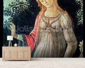 Primavera, detail of Venus, c.1478 (tempera on panel) wallpaper mural living room preview