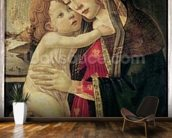 The Virgin and Child, c.1500 (oil on panel) wallpaper mural kitchen preview