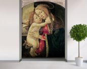 The Virgin and Child, c.1500 (oil on panel) wallpaper mural in-room view