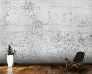 Dante and Virgil Wall Mural Wall Murals Wallpaper