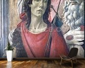 St. John the Baptist, detail from the Altarpiece of St. Barnabas c.1487 (tempera on panel) wall mural kitchen preview