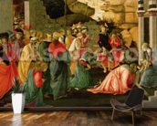 Adoration of the Magi, c.1470 (tempera on panel) wall mural kitchen preview