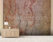 Study of Figures and the Creation of Adam (pencil & red chalk on paper) (verso) mural wallpaper living room preview
