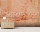 Preparatory Study for the Punishment of Haman (red chalk & charcoal on paper) (verso) mural wallpaper living room preview