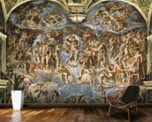 Last Judgement, from the Sistine Chapel, 1538-41 (fresco) wall mural kitchen preview