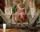 Sistine Chapel Ceiling: The Prophet Isaiah (fresco) wallpaper mural kitchen preview