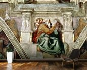 Sistine Chapel Ceiling, 1508-12 mural wallpaper kitchen preview